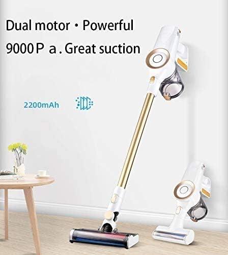 Hammer 2-in-1 Aspirateur, 9000Pa Vertical Aspirateur sans Fil aspirateur léger, léger Filaire sans Sac de Poche avec bâton, adapté for Les Tapis de Sol, Les Poils d\'animaux