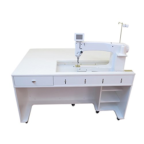 Arrow 1311 Model Quilty Sewing Cabinet Crisp White