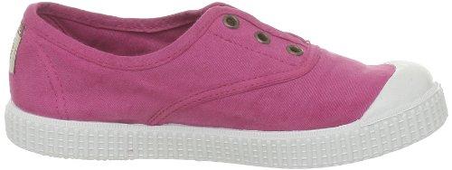 Calego - Zapatillas de casa de tela para niños Rosa (Rose (Fucsia))