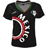 Arza Sports Mexico Womens Soccer Jersey Exclusive Desin (2XL, Black)
