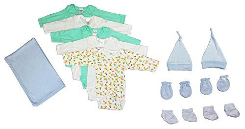 Bambini Newborn Baby Boys 12 Pc Layette Baby Shower Gift Set