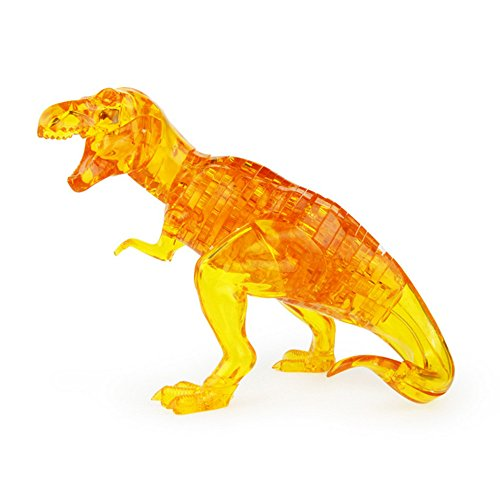 Gbell 3D Dinosaur Puzzle Toys Decor,Dino Model DIY Gadget Blocks Building Toy Gift Ornament for Boys Adults Room,Parent Child Outdoor Travel Indoor Puzzle Toys,18.5×13 ×7.5cm]()