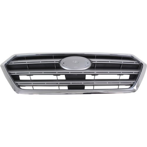 - Garage-Pro Grille Assembly for SUBARU LEGACY 15-17 Ptd-Silver/Gray w/Chrome Trim - CAPA