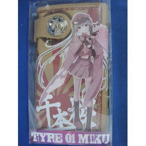 Hatsune Miku Senbonzakura soft leather wallet long wallet (japan import)