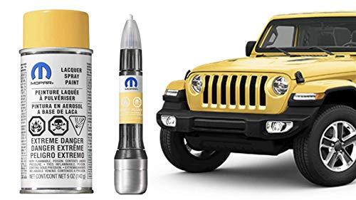 Mopar PYV HellaYella 2018 Jeep JL Wrangler Touch up Paint Genuine 5 oz Aerosol Spray Can -