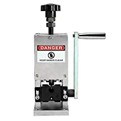 """Attributes: - 3/8"""" Hex Drill Interface: No slip. Fits ALL drills.  - Adjustable Wire Guide: Gauge range from 0.12"""" to 1"""" (3mm - 25mm).  - Durable Blade: Made of special alloy that lasts much longer than high speed steel.  Features: - Suitable..."""
