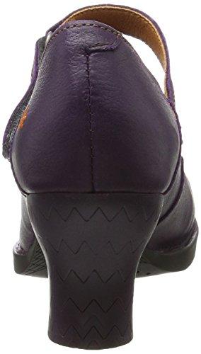 Viola Art Cerise Tacco Scarpe Donna 933 con Memphis black 933 xw66qHXPf