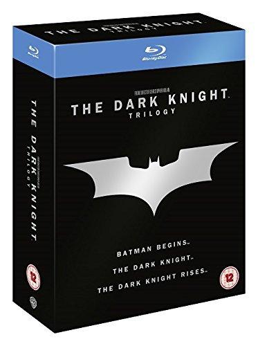 The Dark Knight Trilogy [Blu-ray] [Region Free] [UK Import]