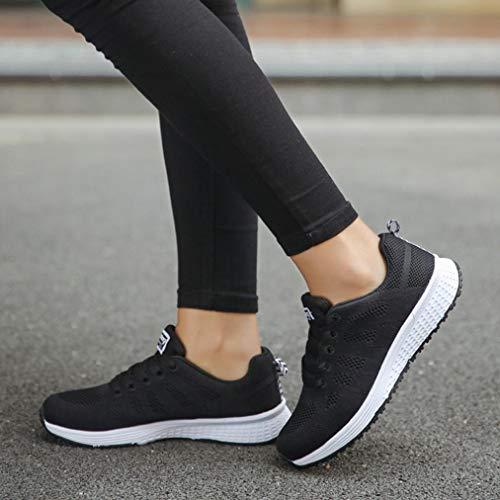 Yoga Calzado 1979 Mujer De 40 Exterior 35 Casual Logobeing Sneakers Running Deportivo Zapatos Deportivas Negro Zapatillas fBx8nzZ