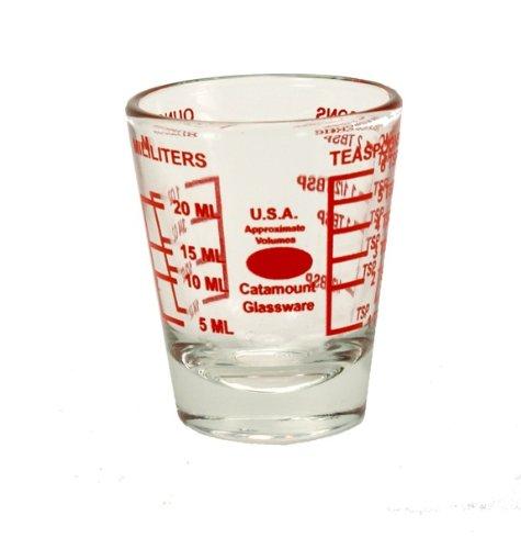 Catamount Glassware Mini Measuring Glass, 1-Ounce