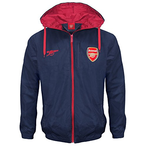 Arsenal Football Club Official Soccer Gift Mens Shower Jacket Windbreaker – DiZiSports Store