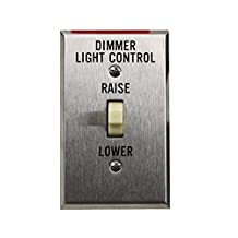 Lutron Rcs-1 120V 1.5A Dimmer Light Controller Remote Control Station Motor Drive Unit