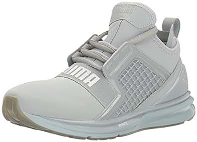 PUMA Women's Ignite Limitless Metallic WN's Cross-Trainer Shoe Quarry 5.5 M US
