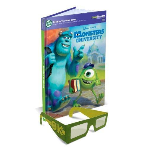 Leapfrog Tag Book (LeapFrog LeapReader 3D Book: Disney·Pixar Monsters University (Works with Tag))