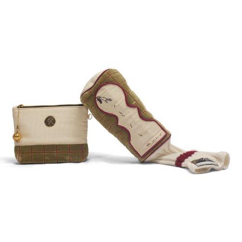 Kiki Golf Designer Zip Pouch - Limited Edition - Green - Collectibles - Ladies Gift