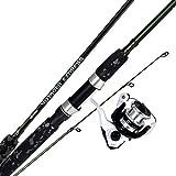 Okuma Fishing Tackle Voyager Express Travel Kit Spinning Combo