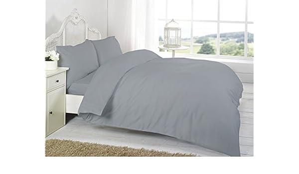 Vetex - Juego de sábanas Lisas T200 (100% algodón Egipcio, 2 ...