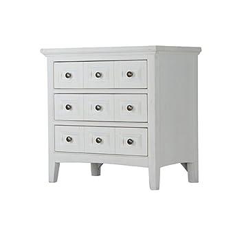 Amazon.com: Magnussen muebles Garza Cove 3 cajones Mesita de ...