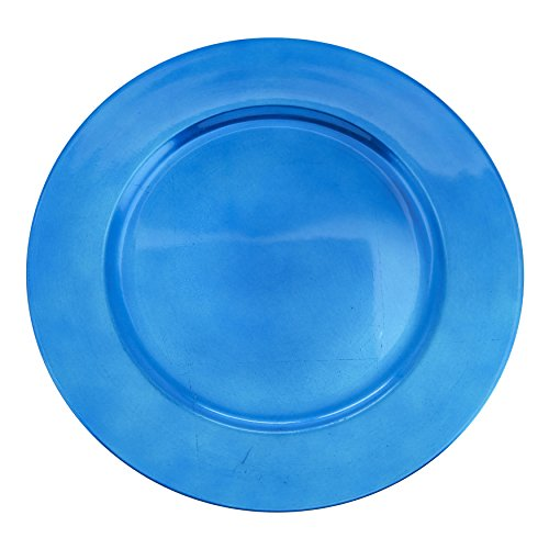SARO LIFESTYLE Couleurs du Monde Collection Classic Design Charger Plate, 13