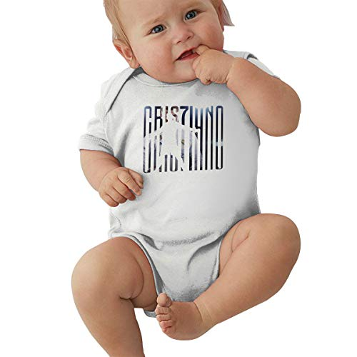 Mr. Legend 7 CR Infant Romper Jumpsuit Baby Layette Bodysuit Kids' One-Piece White