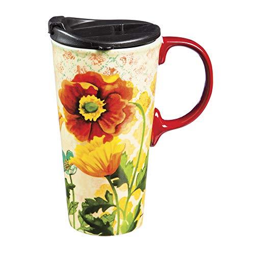 Sunbeam 17 OZ Ceramic Coffee Cup - 4 x 5 x 6 Inches