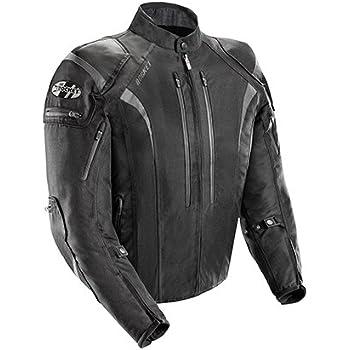 Joe Rocket Atomic Men's 5.0 Textile Motorcycle Jacket (Black, X-Large)