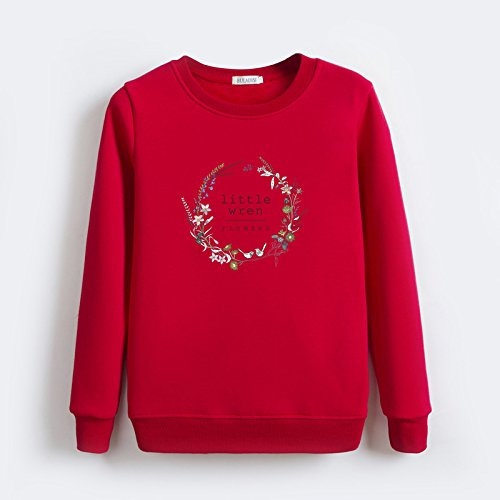 Warm Sweater Winter Xuanku Loose And Round Velvet Neck Hedging Autumn 1101 Thick Coat Female Sweater Plus red Pw0xw