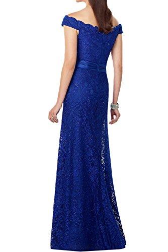 mujer para trapecio Topkleider 38 Vestido real azul fR17cqw7