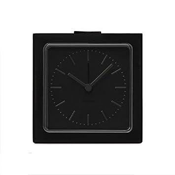 Alarm IndexKüche Leff Amsterdam Block ClockBlack uKJl1FcT3