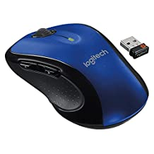 Logitech M510 Wireless Mouse, Blue (910-002533)