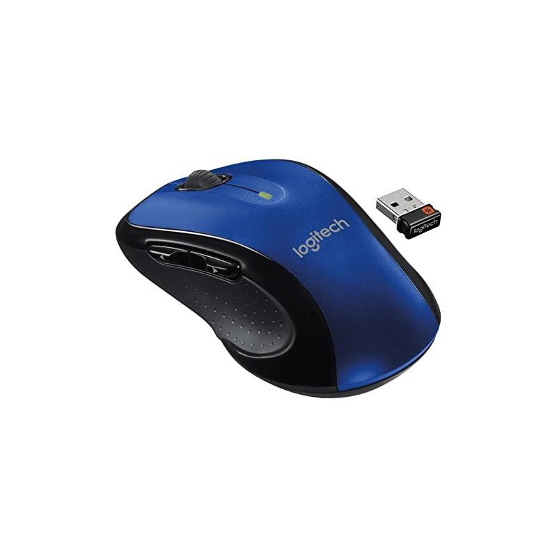 Logitech M510 Wireless Mouse, Blue