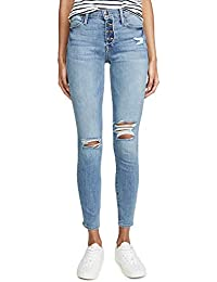 Women's Le High Skinny Button Fly Jeans