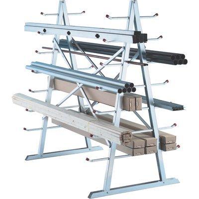 West Horizontal Storage Rack - 5ft. x 3ft. x 5 1/2ft. Size by West