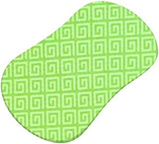 product image for SheetWorld Fitted Bassinet Sheet (Fits Halo Bassinet Swivel Sleeper) - Geo Green - Made In USA