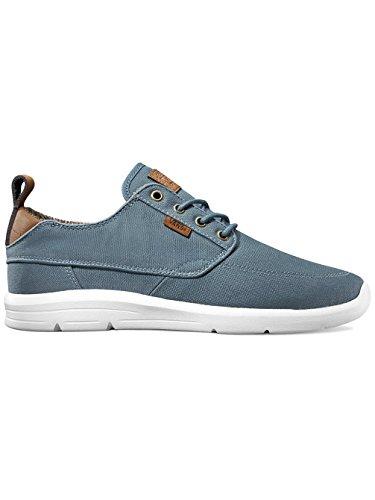 Blue Mirage Herren Vans Lite UA Brigata Sneakers Whit Canvas YYO0n