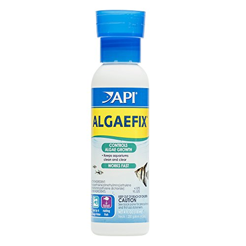 API ALGAEFIX Algae Control Solution 4-Ounce (Aquarium Algae Control)