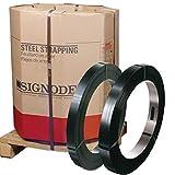 Signode Magnus 3/4 Inch High Tensile Black Steel