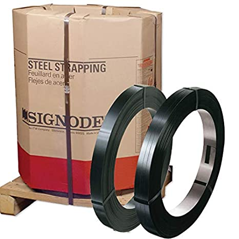 Portable Steel Strapping Kit with 3//4 x .023 x 300 Regular Duty Banding in a Carton Dispenser and 100 Open Seals