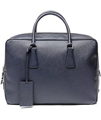 Prada Women's Top Zip Real Leather Handbag