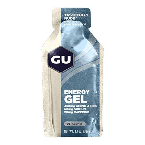 GU Sports Energy Gel - Case of 8 Boxes of 24 Packs (Tastefully Nude)