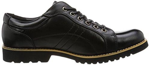 O-nine Casual Damessneakers Sneakers Ronde Neus Comfort Zwart Bruin Marine Wit Zwart