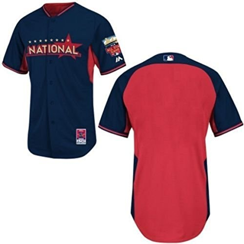 VF National League MLB 2014 All-Star Authentic Batting Practice/Home Run Derby Jersey Navy Blue Adult Sizes (52)