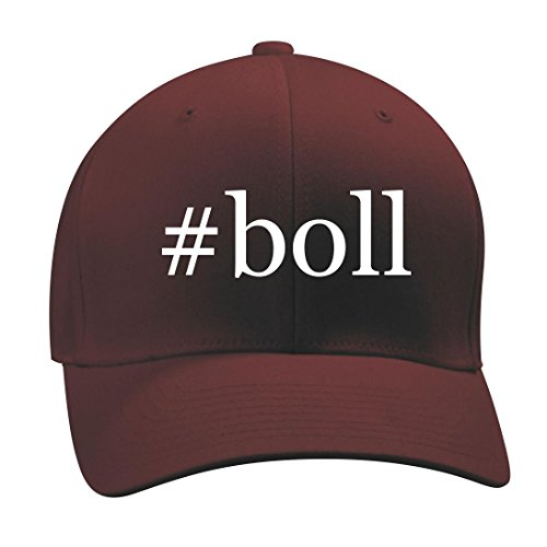 #boll - A Nice Hashtag Men's Adult Baseball Hat Cap, Maroon, Large/X-Large