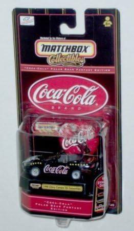 Coca Cola 1998 Chevy Camaro SS Convertible Dubblebla Matchbox Collectibles Polar Bear Fantasy Edition 1:64