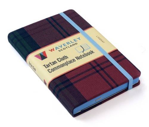 Lindsay Tartan - Lindsay: Waverley Genuine Tartan Cloth Commonplace Notebook (Waverley Scotland Tartan Cloth Commonplace Notebooks/Gift/stationery/plaid)