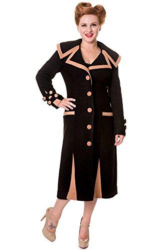 Banned-Long-Vintage-Button-Coat-Black-or-Camel