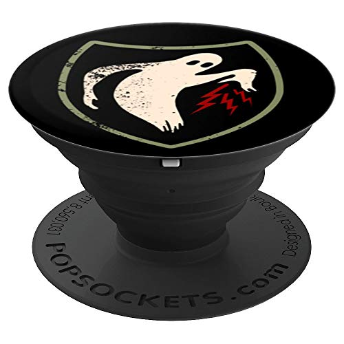 (WWII Vintage Ghost Army World War 2 Allied Unit - PopSockets Grip and Stand for Phones and Tablets)