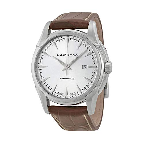 - Hamilton Men's H32715551 Jazzmaster Viewmatic Silver Dial Watch