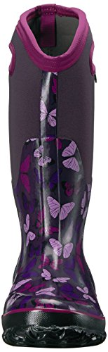 Bogs Boots Multi Rubber Classic Eggplant Butterfly Womens PwxrPqTR