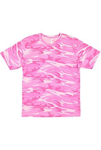 - Code Five Men's 100% Cotton Camouflage Crew Neck Short Sleeve Tee
